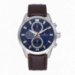 GUARDIAN ALL SS 44MM BLUE / BROWN LEAT.