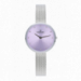ANGELINA 32MM LILAC DIAL SILVER SS MESH