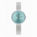 ANGELINA 32MM GREEN DIAL SILVER SS MESH
