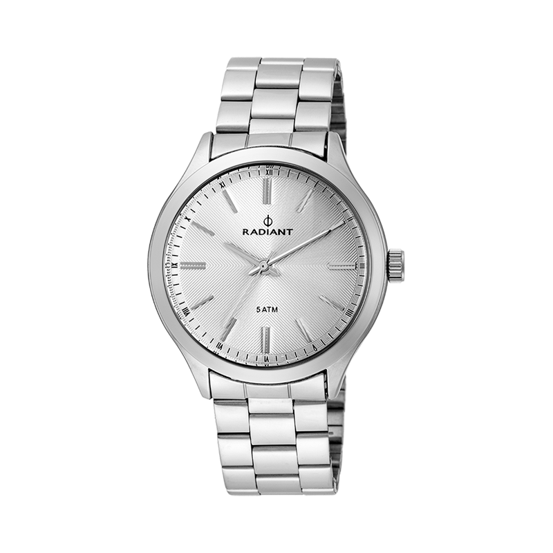 COVER 40MM SILVER DIAL SILVER SS BAND