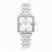 FINE 28MM WHITE DIAL SILVER SS BAND
